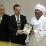 السفير السوداني ووفد من جمعية الصداقة اللبنانية السودانية في غرفة طرابلس