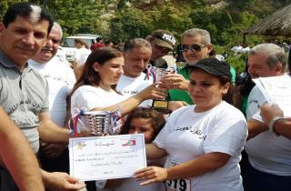 """اختتام مهرجان """"نركض للجومة وللجيش اللبناني"""""""