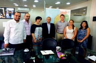 توقيع اتفاقية لتجهيز مكاتب سراي حلبا الحكومي