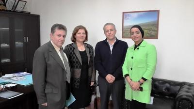 جولة للمدير العام لتعاونية موظفي الدولة في عكار