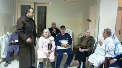 كاريتاس عكار احيت عيد القديسة بربارة مع كبار السن